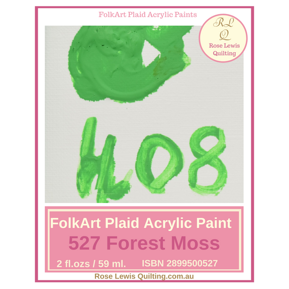 FolkArt Plaid Acrylic Paint 2 oz- 408 Green