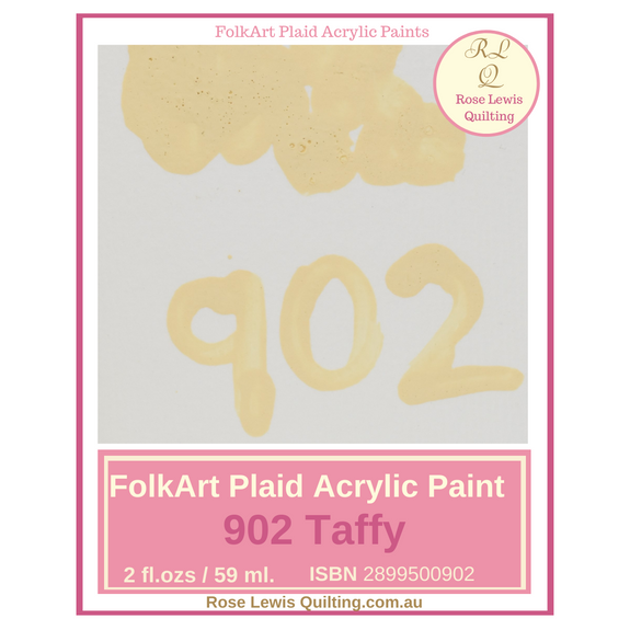FolkArt Plaid Acrylic Paint 2 oz- 902 Taffy