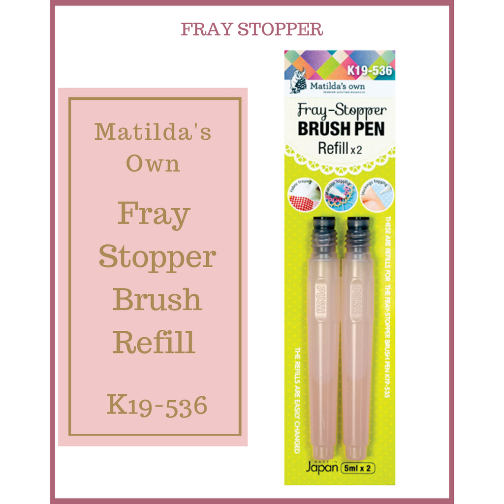 Matilda's Own Fray Stopper Brush Refill K19-536