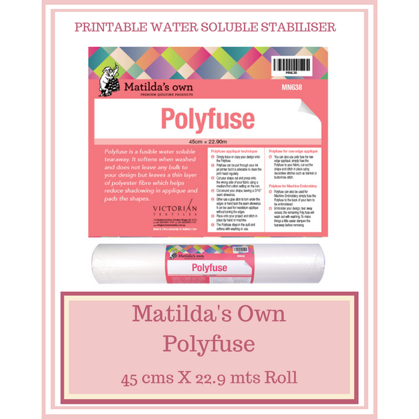 Matilda's Own Polyfuse 45 cms X 22.9 mts Roll MN638