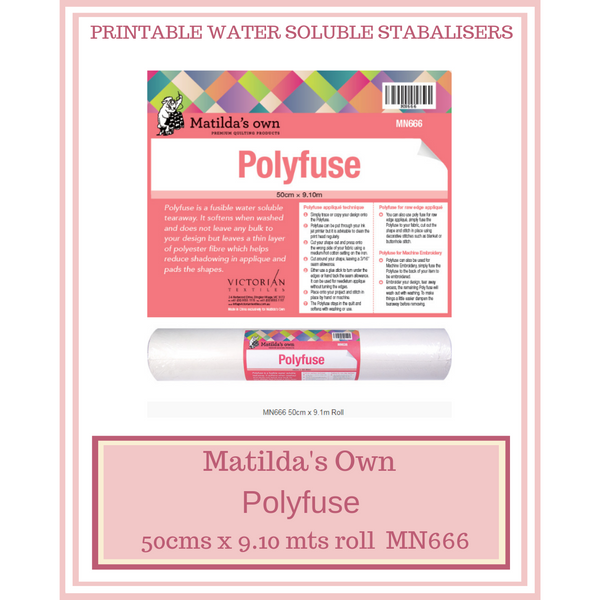 Matilda's Own Polyfuse 50 cms x 9.10 mts Roll MN666