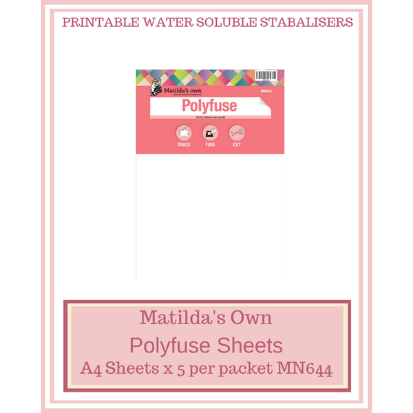Matilda's Own Polyfuse A4 Sheets MN644