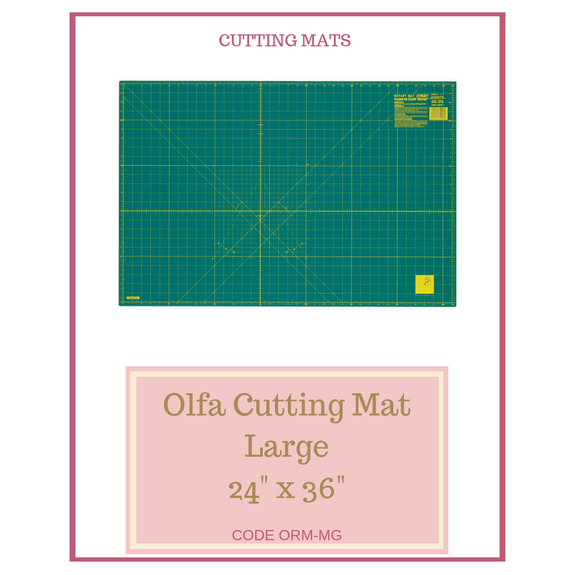 "Olfa Large Cutting Mat 24"" x 36"" ORM-MG"