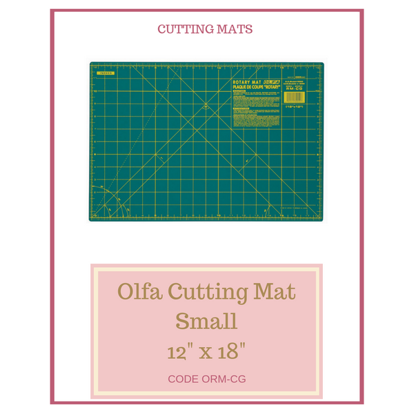 "Olfa Small Cutting Mat 12"" x 18"" ORM-CG"