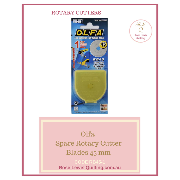 Olfa Spare Blades 45 mm RB45-1