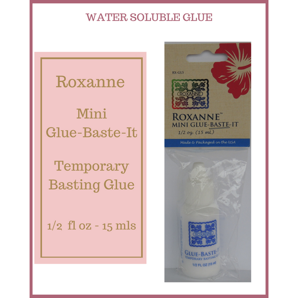 Roxannes Water Soluble Glue Baste It Mini 15ml