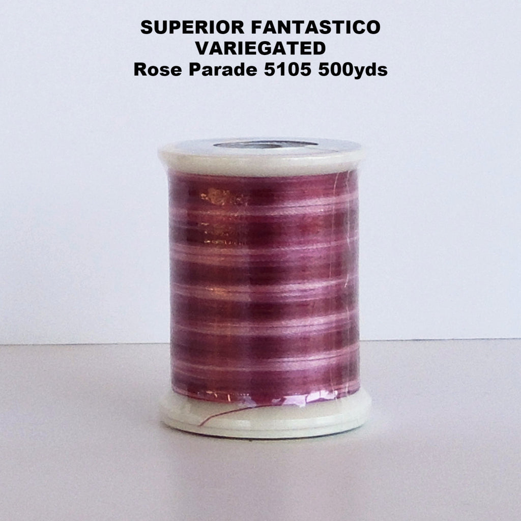 Superior  Fantastico  Thread Variegated  Rose Parade 5105 500yds