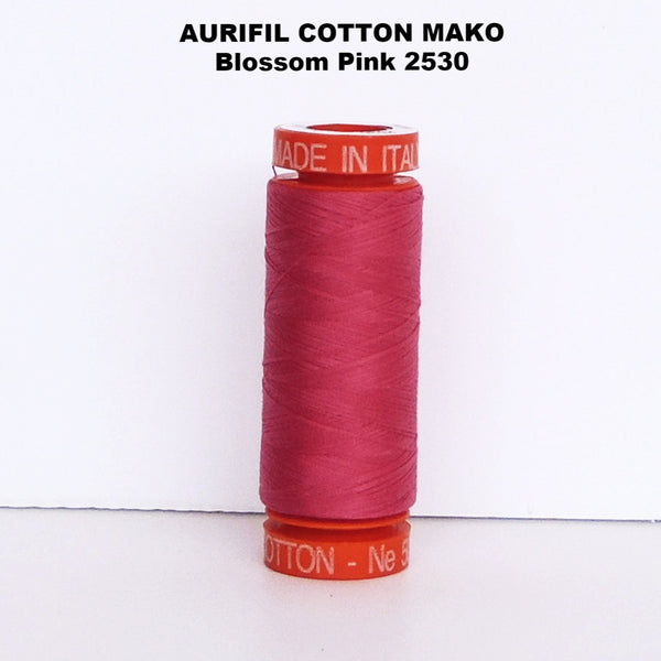 Aurifil Cotton Mako Thread  Blossom Pink 2530