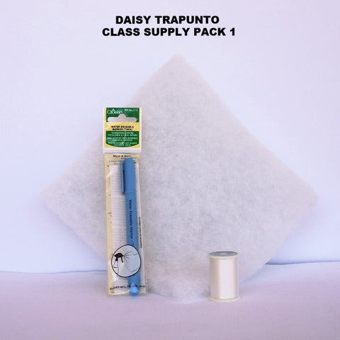 Daisy Trapunto Class Pack 1