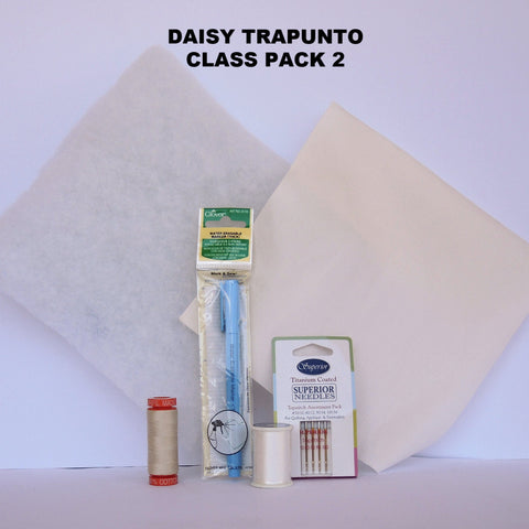 Daisy Trapunto Class  Pack 2