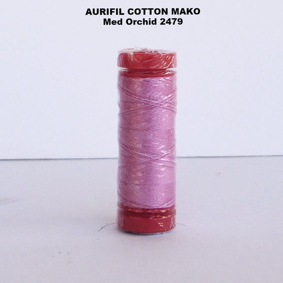 Aurifil Cotton Mako Thread Med Orchid 2479