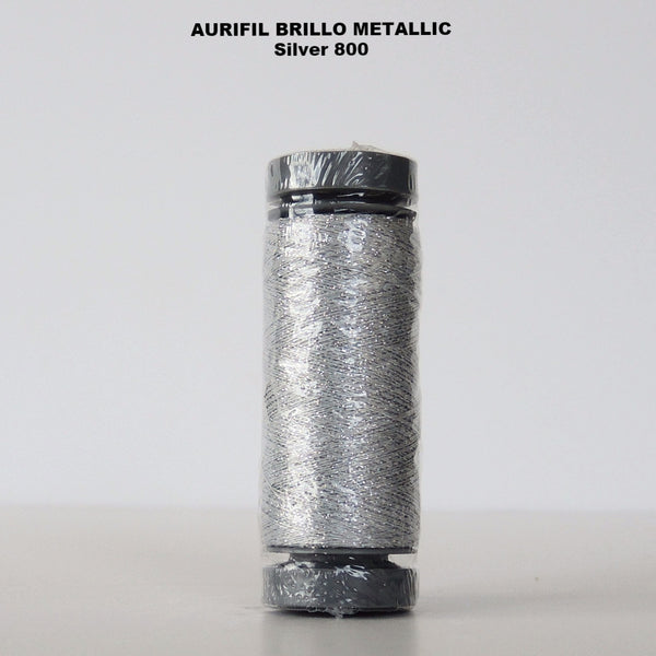 Aurifil Brillo Metallic Thread  800