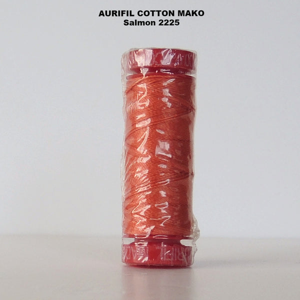 Aurifil Cotton Mako Thread  2225 Salmon