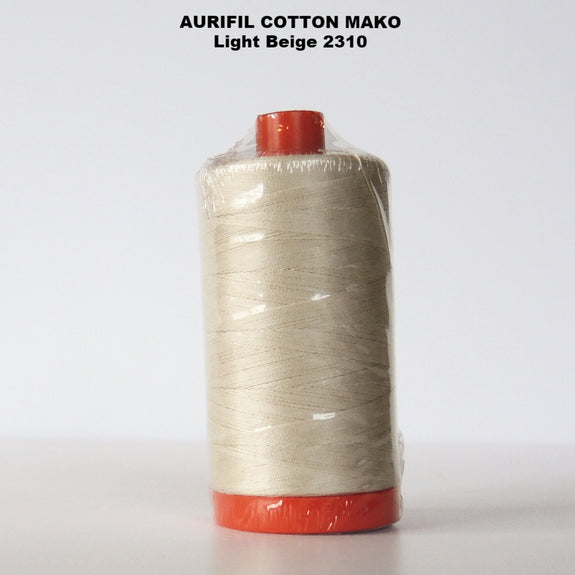 Aurifil Cotton Mako Thread  Light Beige 2310