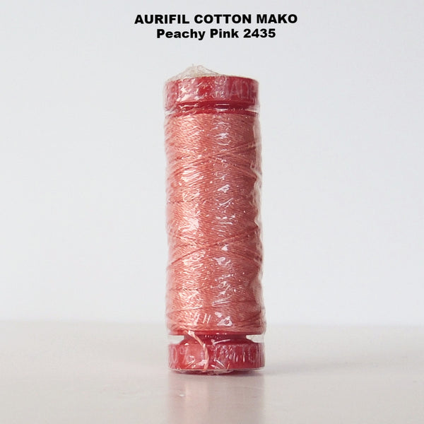 Aurifil Cotton Mako Thread Peachy Pink 2435