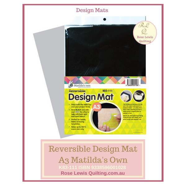 Reversible Design Mat A3 Matilda's Own K83-111 9338596001028
