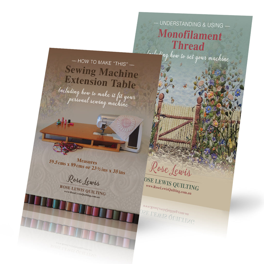 Sewing Machine Extension Table and Understanding  &  Using Monofilament Thread  2 Paperback books Offer