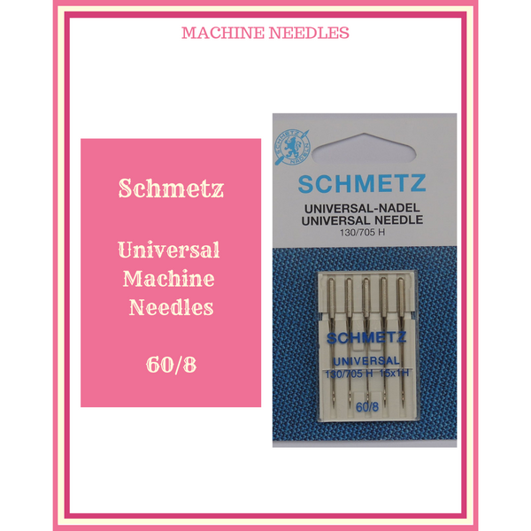 Machine Needles Schmetz Universal 60/8