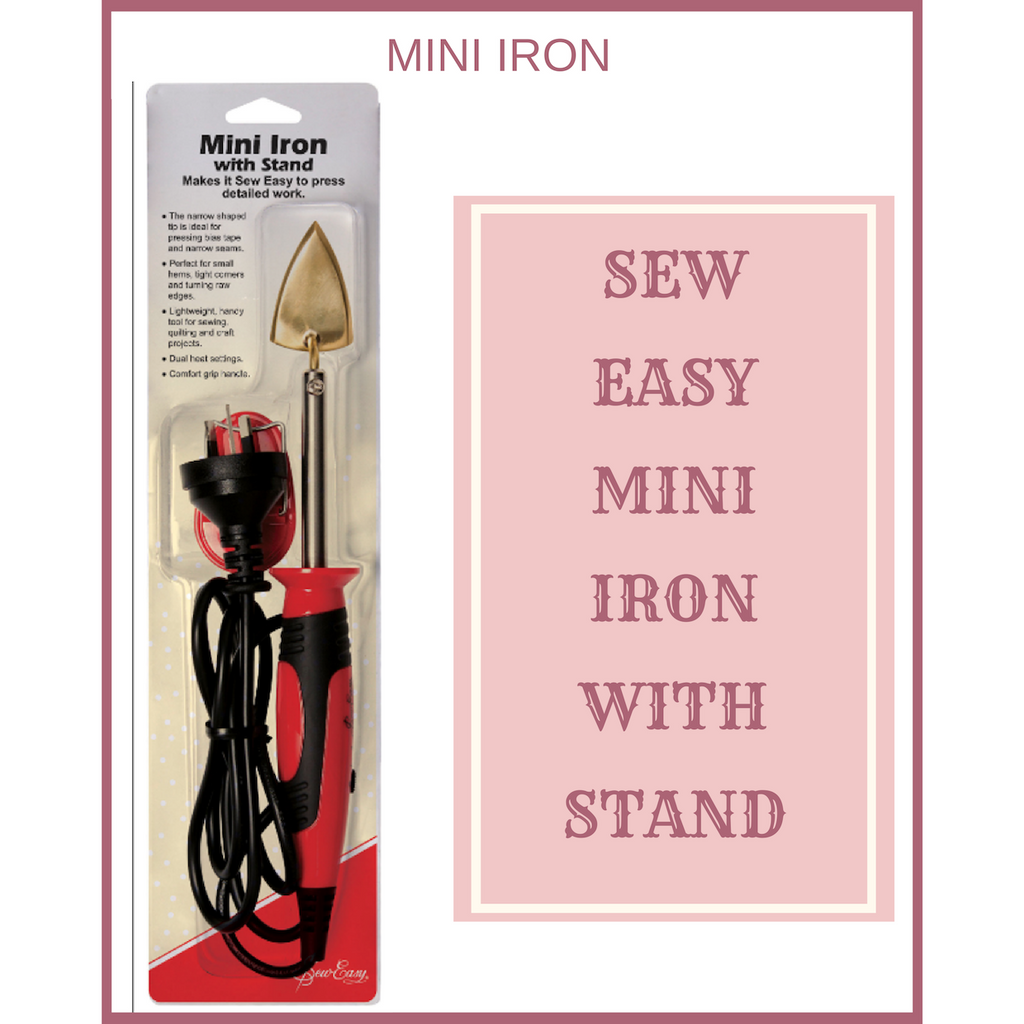Sew Easy Mini Iron with stand ER 4110 317385286587