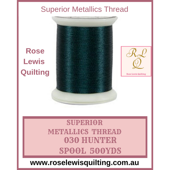 Superior Threads Metallics Hunter 030 500 yds