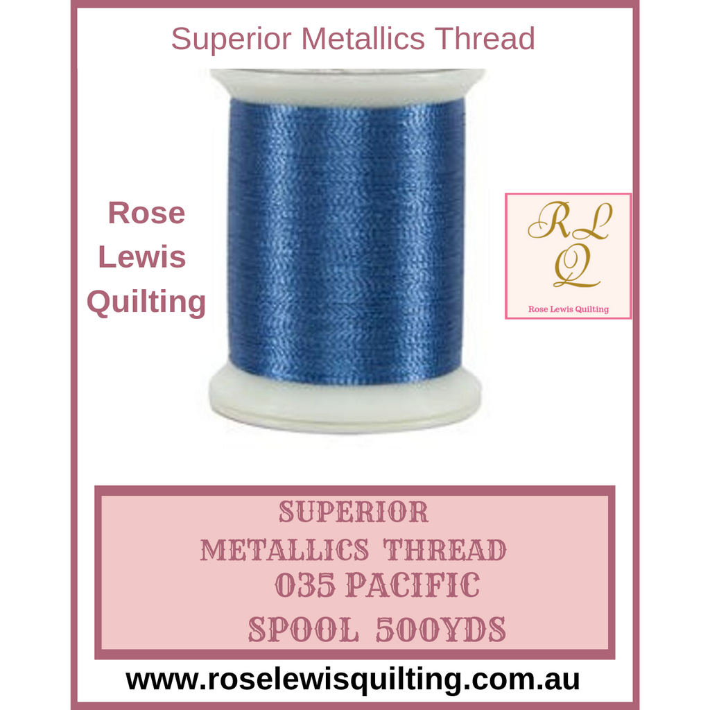 Superior Threads Metallics Pacific 035 500 yds