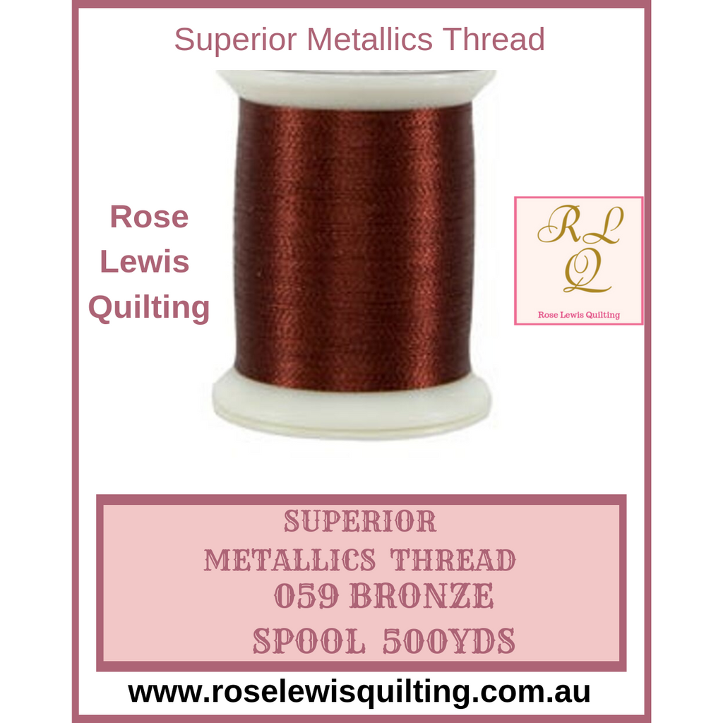 Superior Threads Metallics Bronze 059 500 yds