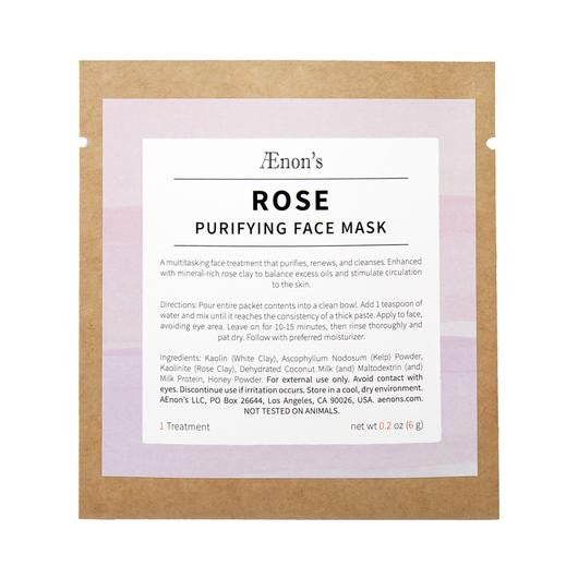 AENONS Rose Purifying Face Mask