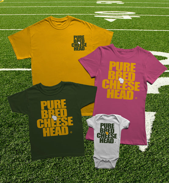 PUREBRED CHEESEHEAD™ COLLECTION