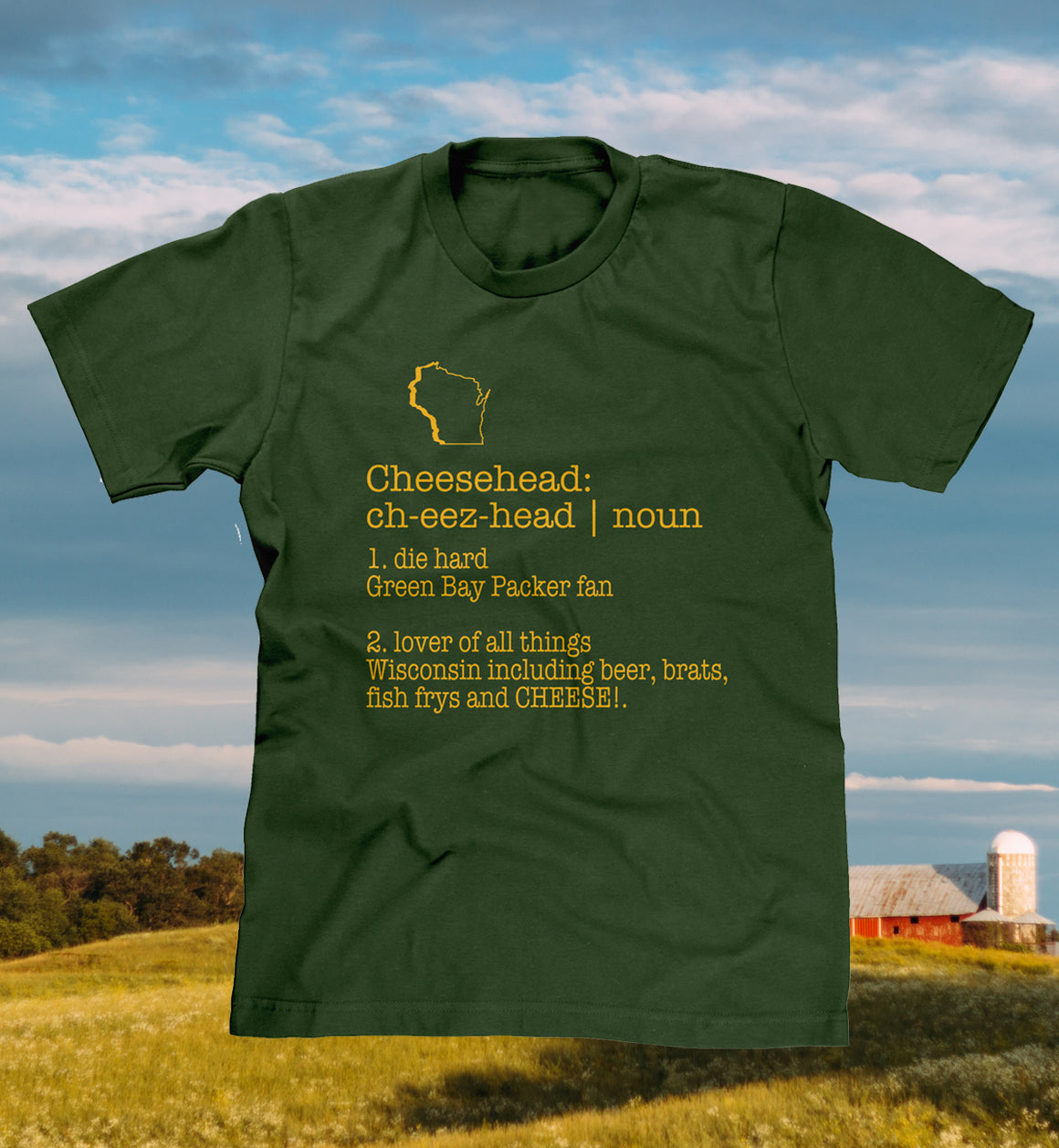 Definition of a Cheesehead T-shirt f01a81a91