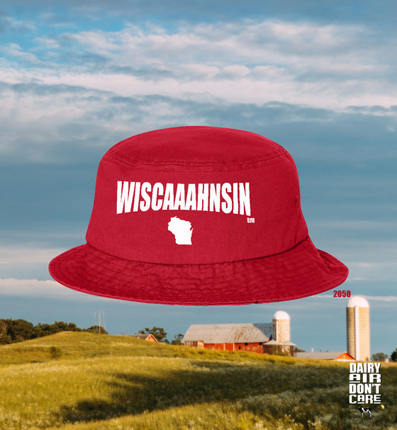 WISCAAAHNSIN™ BUCKET HAT