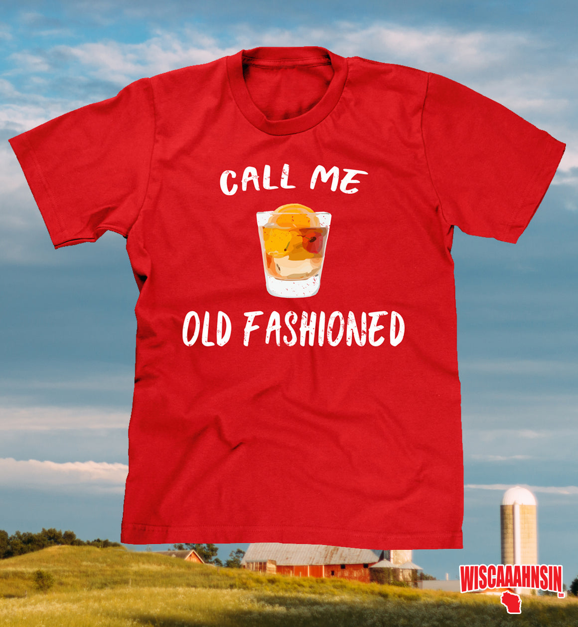 wisconsin old fashioned shirt