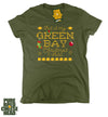 Women's Green Bay Packer Ugly Sweater Christmas T-shirt