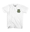white cheesehead t-shirt