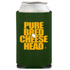 cheesehead drink cooler coozie