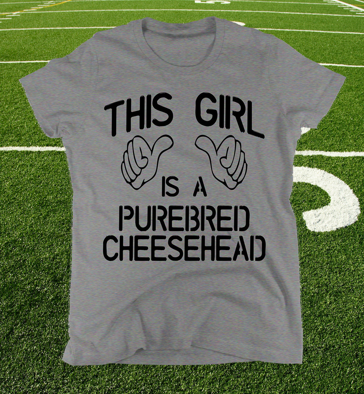 womens cheesehead shirt
