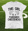 wisconsin cheesehead shirt for women