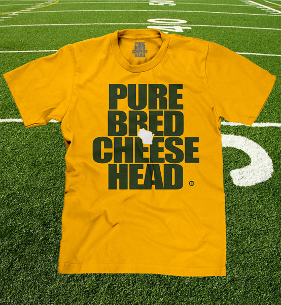 cheesehead youth shirt