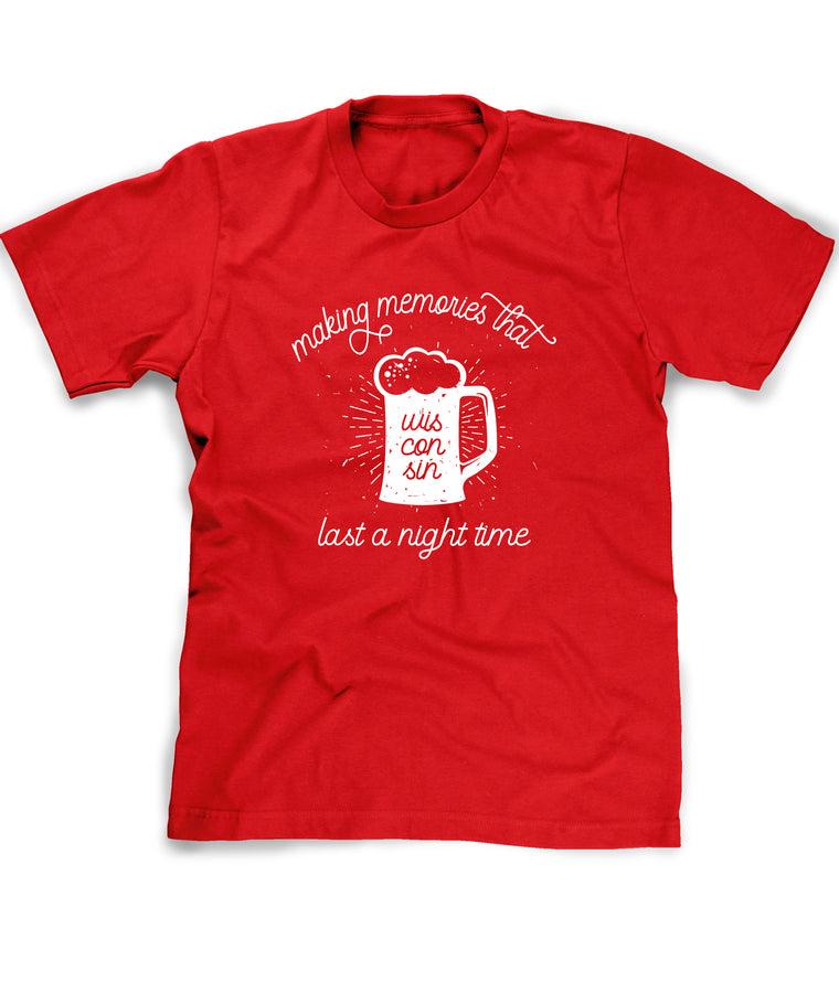 funny wisconsin drinking tee shirt