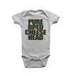 cheesehead onesie for infants