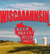 funny wisconsin coffee mug closeup