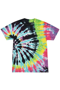 Abstract Colors Tie Dye T-Shirt