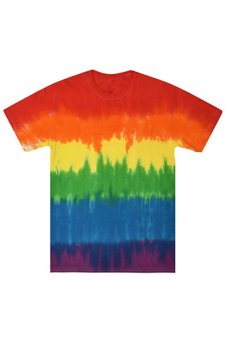 Stripe Colors Tie Dye T-Shirt
