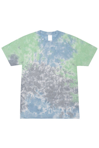 Blue Grey Tie Dye T-Shirt