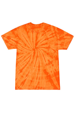 Orange X-Ray Tie Dye T-Shirt
