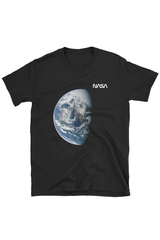 NASA Earth Tee Black