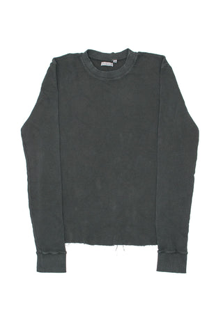 Vintage Black Thermal Shirt
