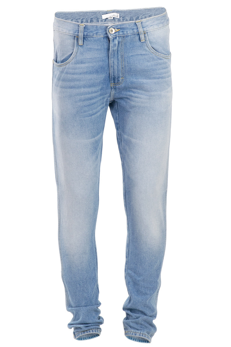Big & Tall Faded Indigo Tapered Jeans