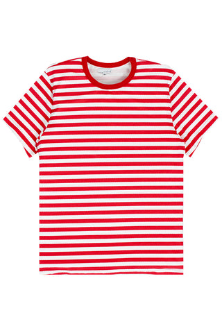 Red White Stripe Tee