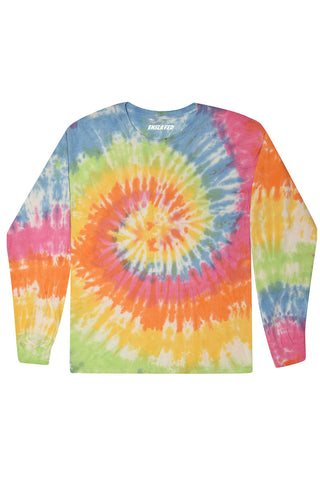 Colors Long Sleeve Tie Dye T-Shirt