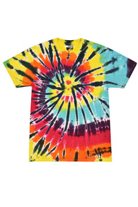 Red Teal Tie Dye T-Shirt